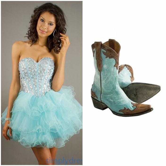 Sweet 15 Dresses Aqua image