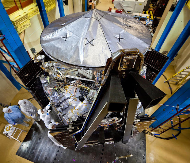 NASA's Juno spacecraft nearing completion at Lockheed Martin