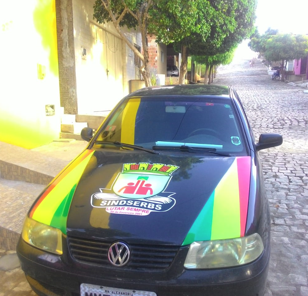 Carro do SINDSERBS