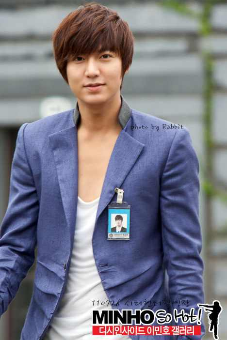 I Min Sun: [Photo] Lee Min Ho City Hunter BTS Pics
