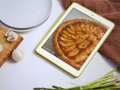Imagen en Ipad de Tarta de manzana