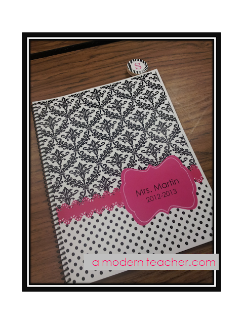 Teacher Planner: A Modern Teacher