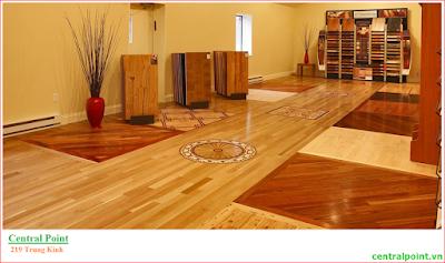 Sàn gỗ công nghiệp cao cấp chung cư 219 Trung Kính