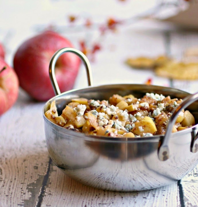 Farmer's Market Deconstructed Apple Pie