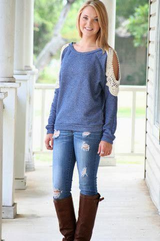 Yeni Moda Bayan Sweatshirt Modelleri