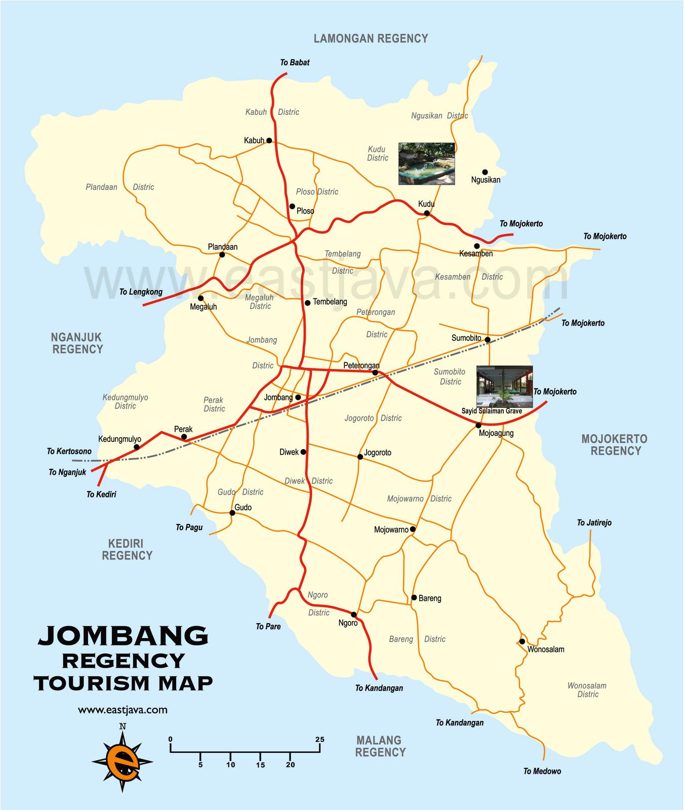 Jombang Indonesia  city photo : Arek Soco Kabuh: peta jombang