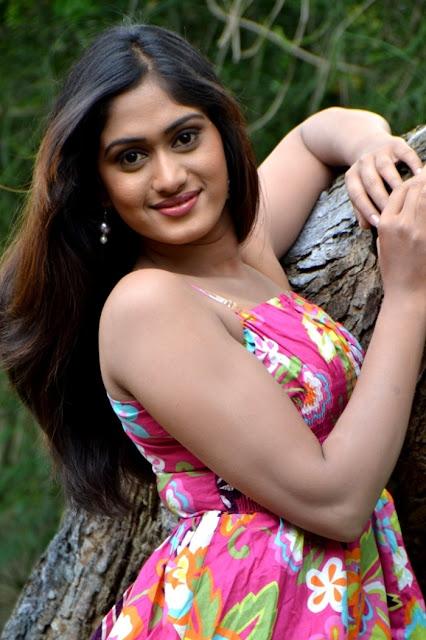 Tollywood Actress Lavanya in Short Dress Legs Thighs Show Pics