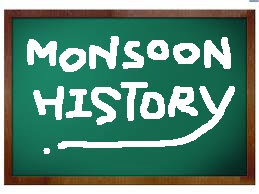My Life...: Poem: Monsoon History By Shirley Geok-lin Lim
