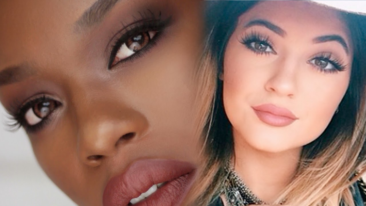 Destinygodleyspot kylie jenner nude lip tutorial baditri Image collections
