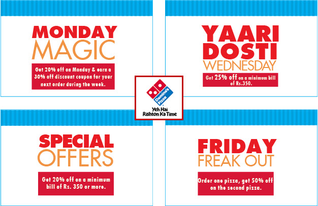 Dominos delivery discount coupons