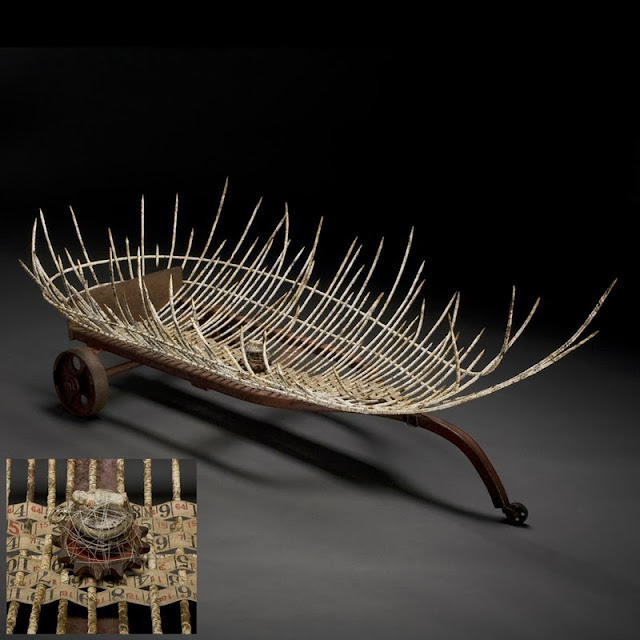 Basketry In Art : Contemporary basketry boat forms