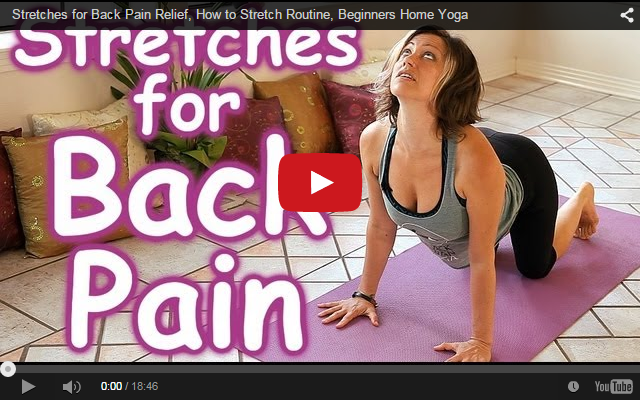 Stretches for Back Pain Relief