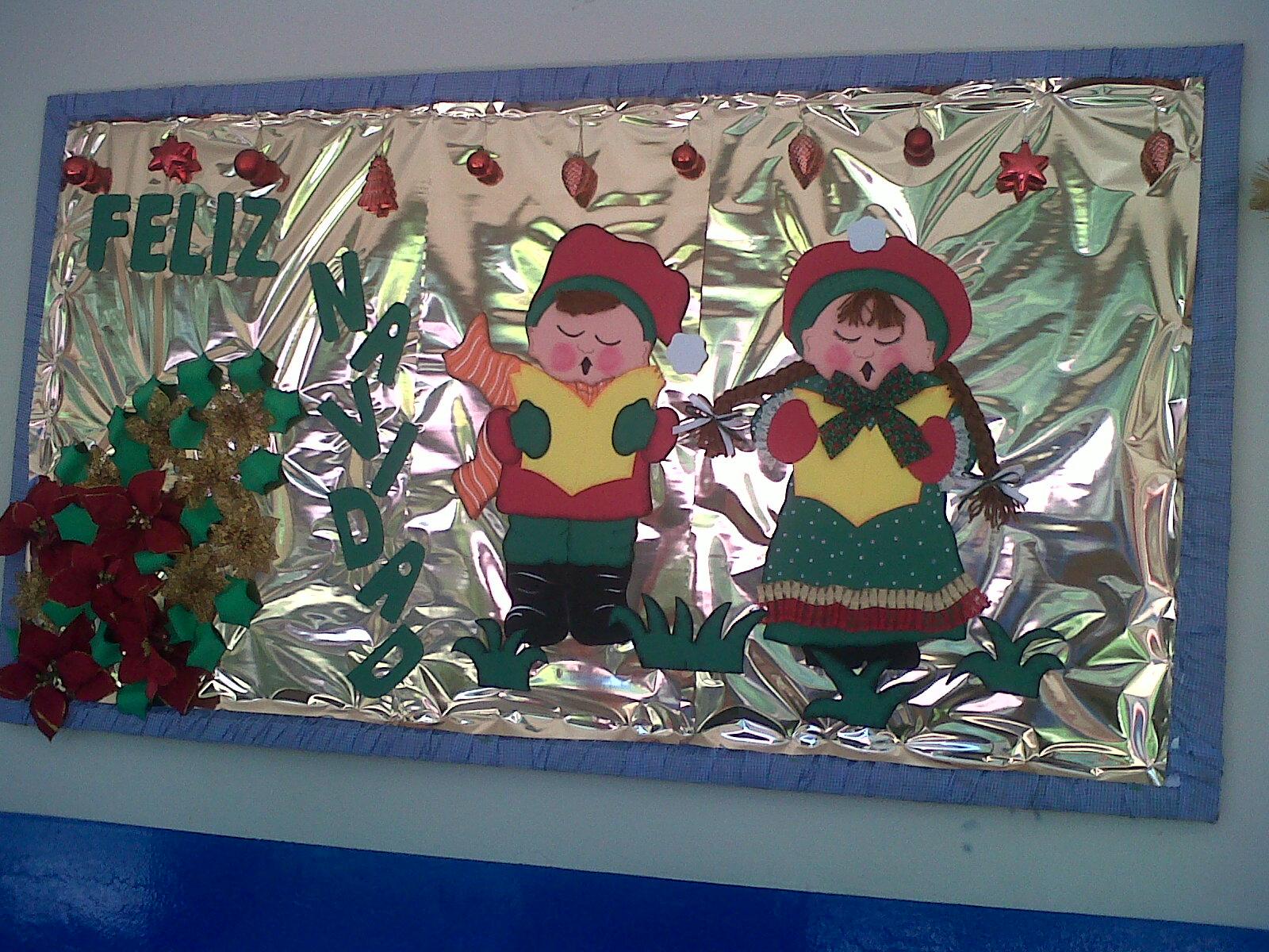 Imagenes de navidad para decorar carteleras decoracion de for Figuras de navidad para decorar