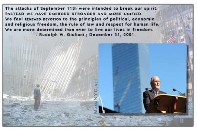 September 11 Quotes George W Bush