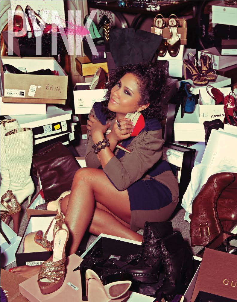 pynk angela yee 3 It has a prepaid calling card, hygiene kit, camera, duct tape to name a few ...