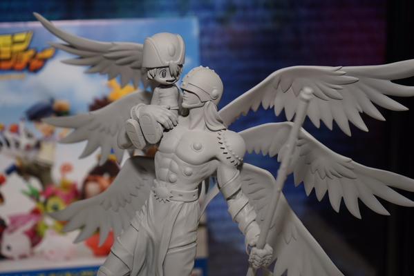 [Novidades] Figuras com personagens de Digimon 02, Angemon e Angewomon! Angemon