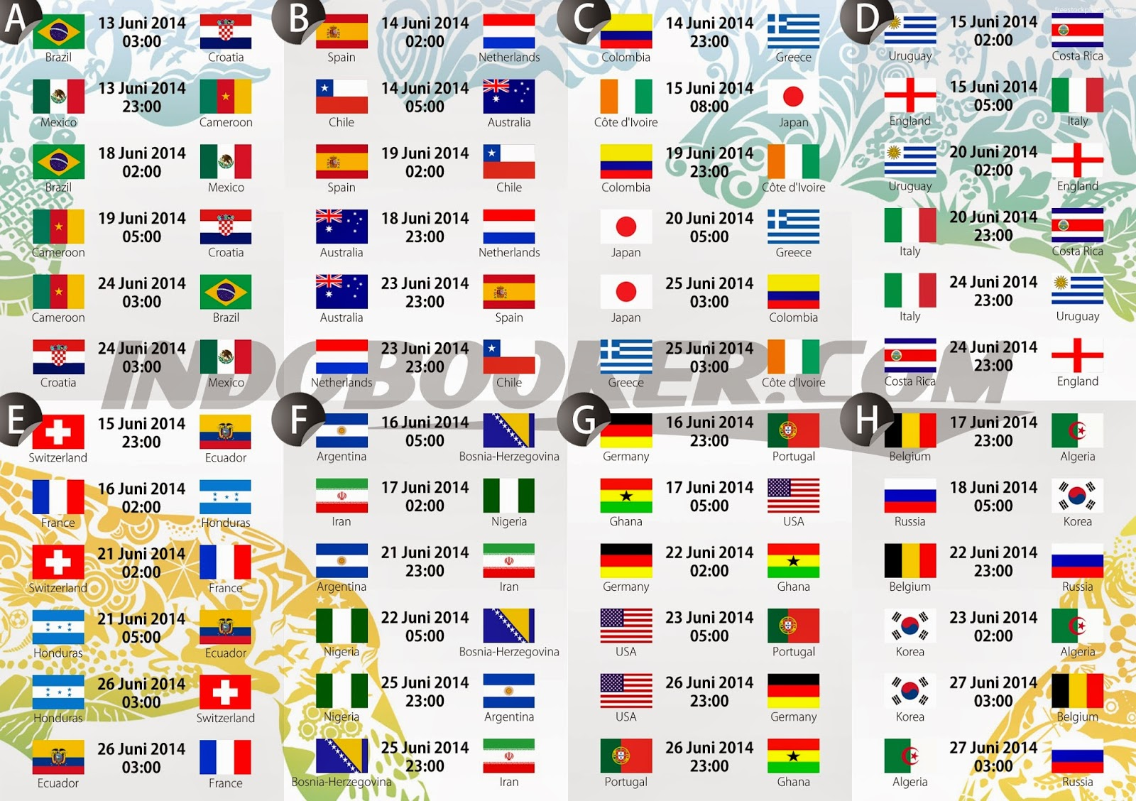 Fantastic Fixture Bd Time World Cup 2018 - 2014+FIFA+World+Cup+Schedule+Fixtures+\u0026+Time++Table+2  Trends_100128 .jpg