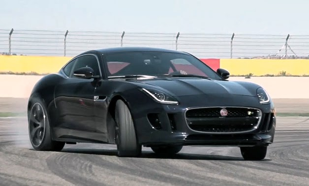 Chris Harris finds the Jaguar F-Type R Coupe rather drifty