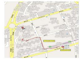 私人學生上課地點地圖 -- Click to Enlarge