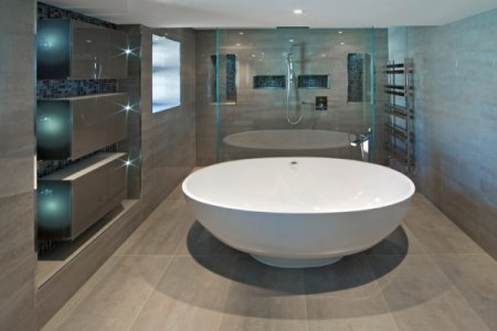 The Idea of Lumber Remodels Bathroom Modern Minimalism 2016