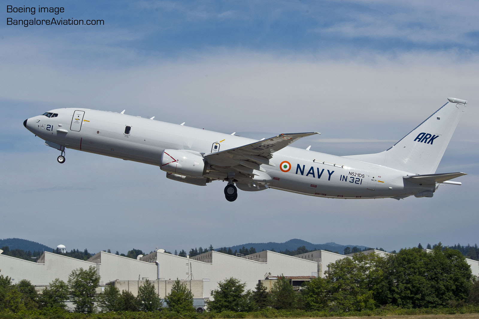 Indian Navy Boeing P-8I