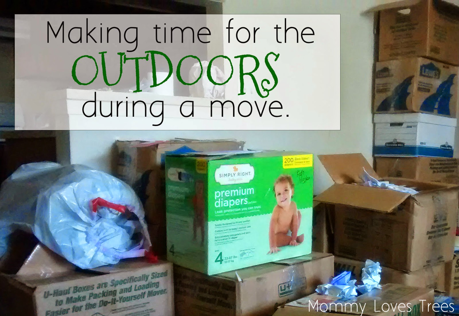 Making time for the outdoors during a move.