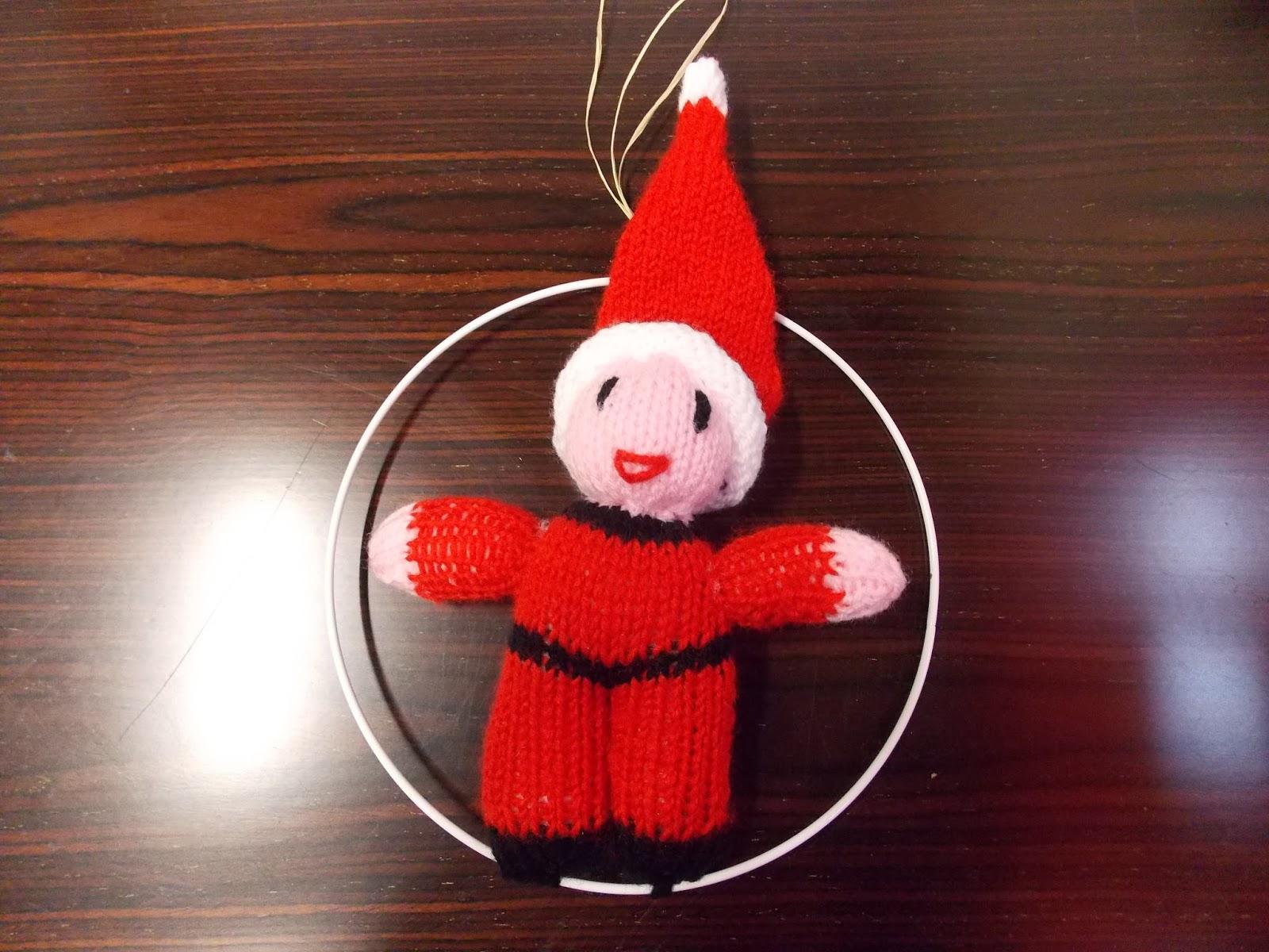 un mouton m 39 a dit tuto tricoter un doudou de noel. Black Bedroom Furniture Sets. Home Design Ideas