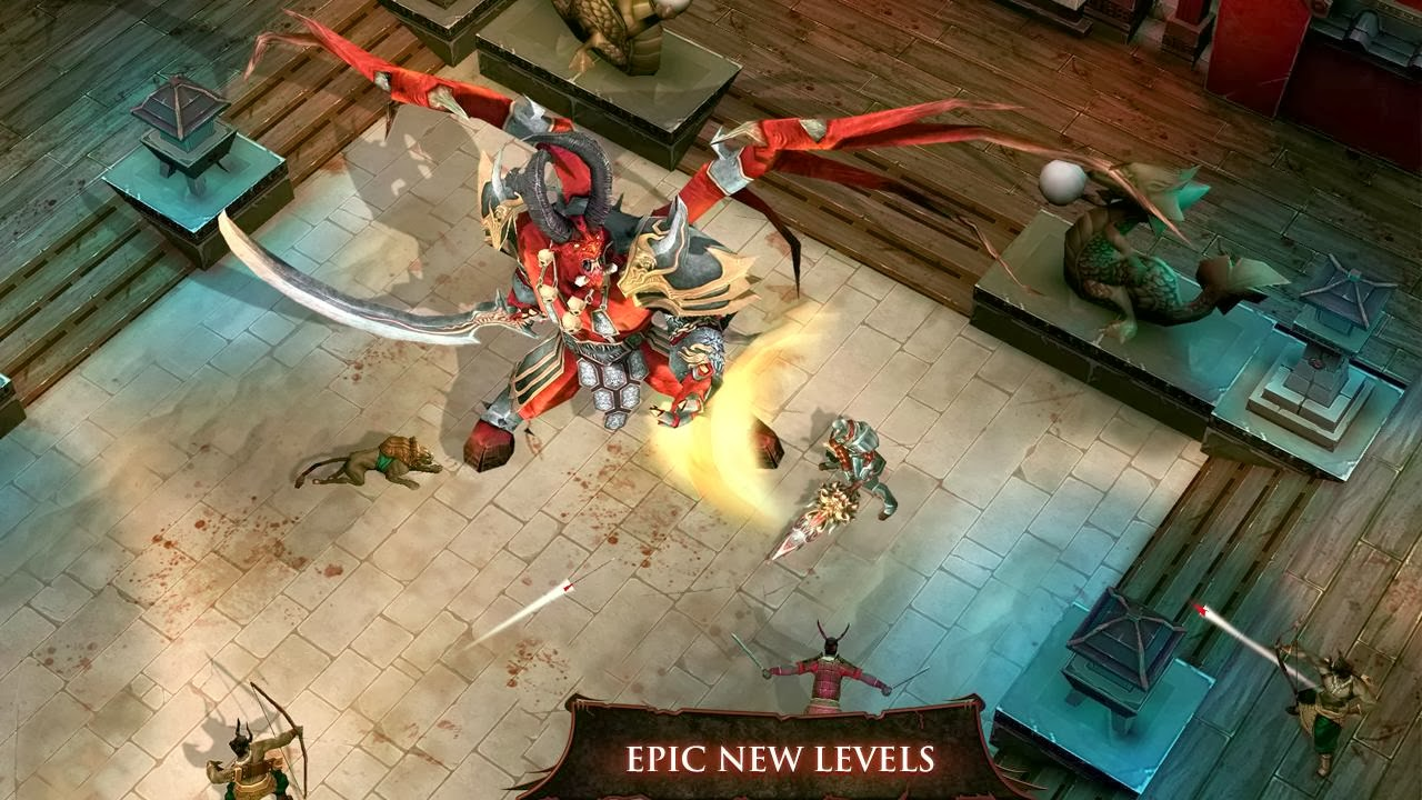 Gameloft's Dungeon Hunter 4 Get For Android,