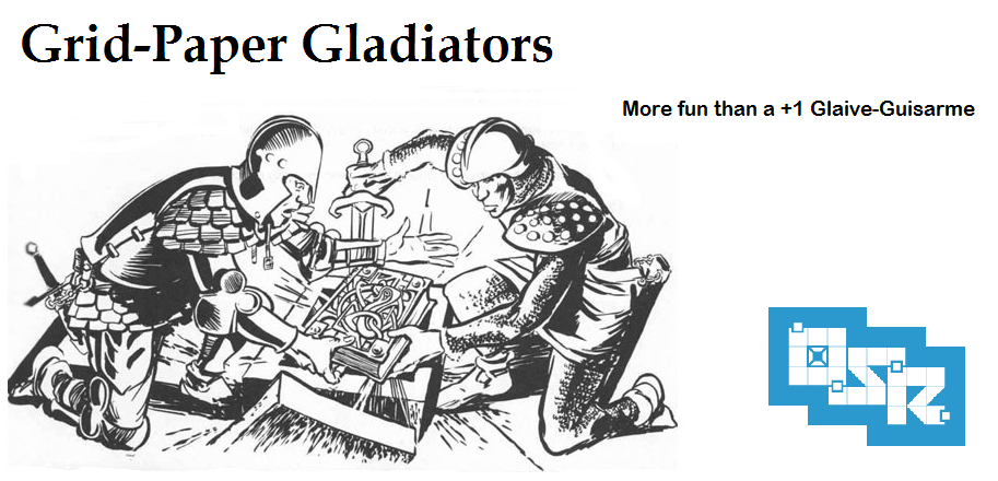 Grid Paper Gladiators
