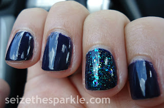 OPI Road House Blues, SinfulColors Nail Junkie