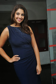 Actress Richa Gangopadhyay  Pictures in Short Dress at Bhai Telugu Movie Audio Launch  0020.jpg