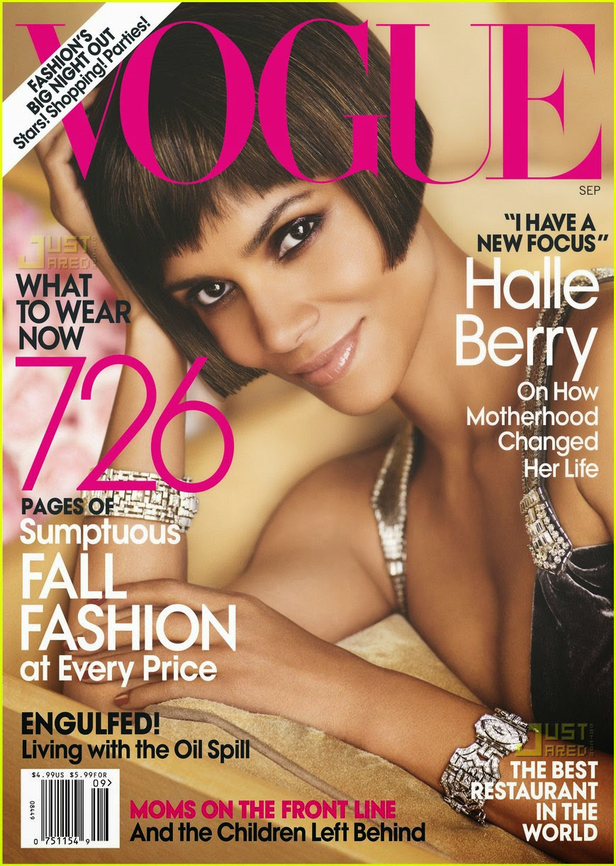 halle berry, cat woman, vogue september issue, black woman, american vogue magazine, black cover star