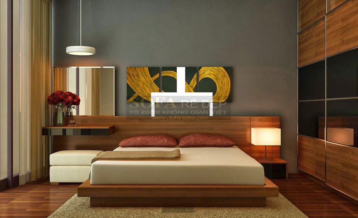 Giường ngủ GN002
