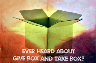 Give box and take box