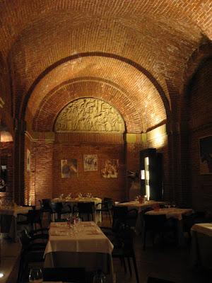 Restaurant Mille Vini in Siena's Medici fortress