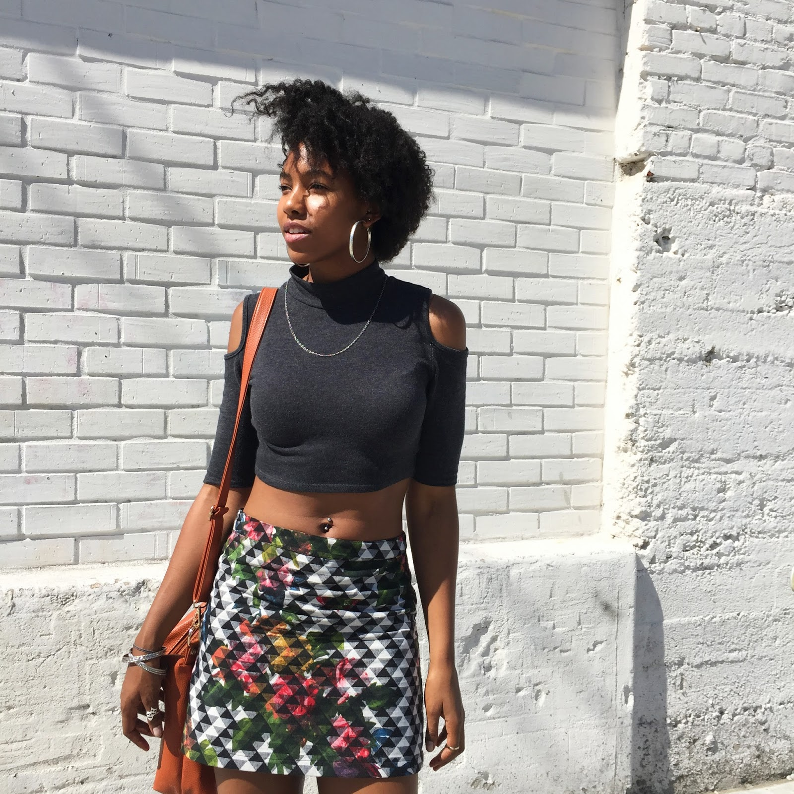 Marquise C Brown fashion natural hair fashion blogger ootd