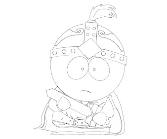 #1 Stan Marsh Coloring Page