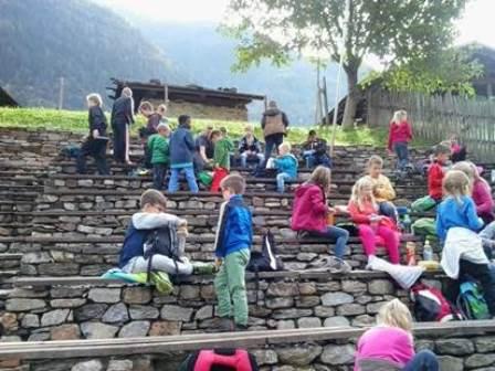 Klettergerüst Hofer : Herbstausflug der grundschule plaus ins passeiertal