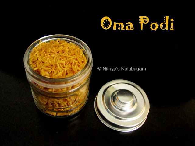 Oma Podi | South Indian Sev | Step by step pictures