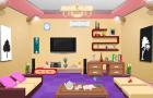 Contemporary Living Room Escape