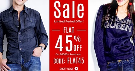 Yebhi Clearance Sale: Get Flat 45% Extra Discount on Men's & Women's Fashion Styles