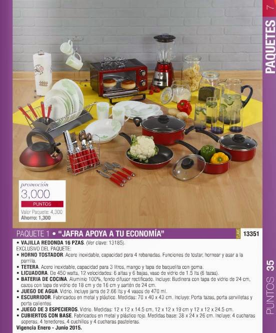 Promoción 3000 Puntos Jafra / 35-2015