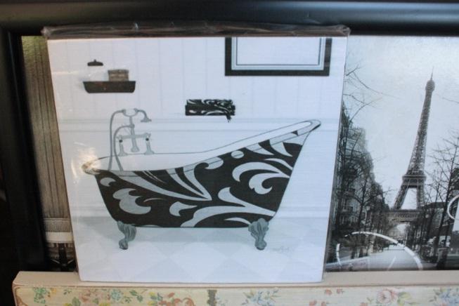 Poneme lindo el ba o nivel muebles de jard n y regalos - Cuadros para el bano ...