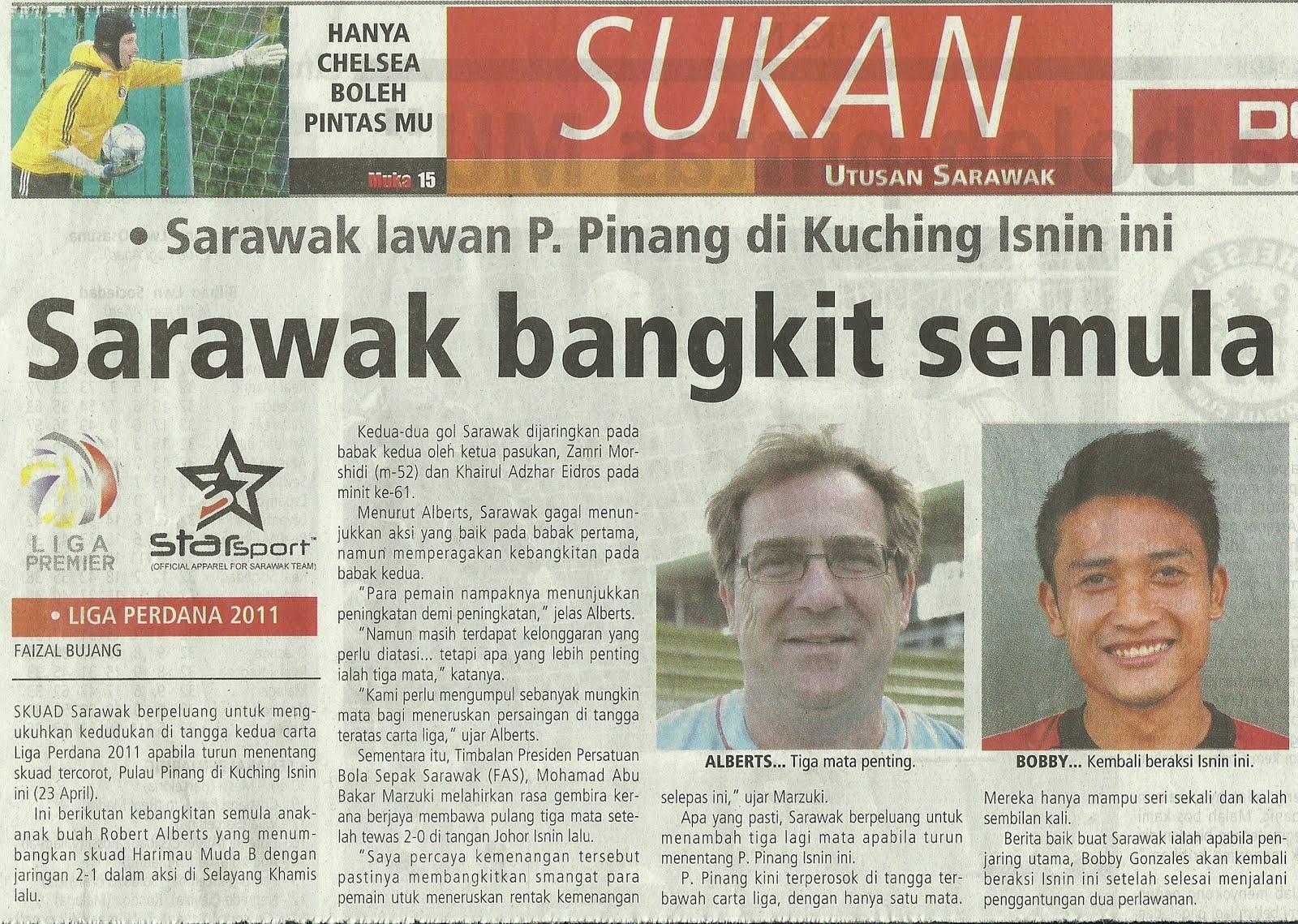 Media Team Utusan Sarawak Hari Ini Sarawak Bangkit Semula