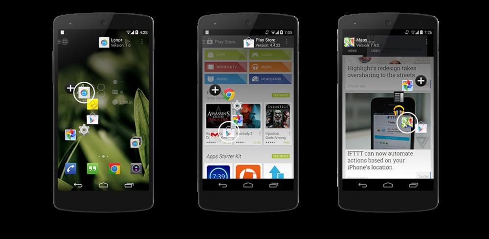 La aplicación Loopr para android