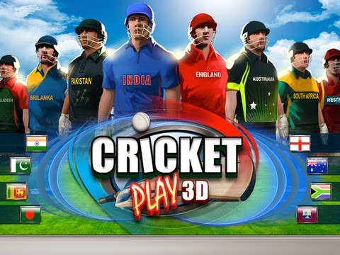 Cricket Play 3D for iPhone and iPad