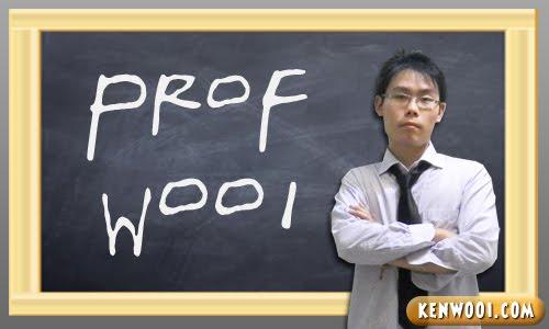 professor wooi