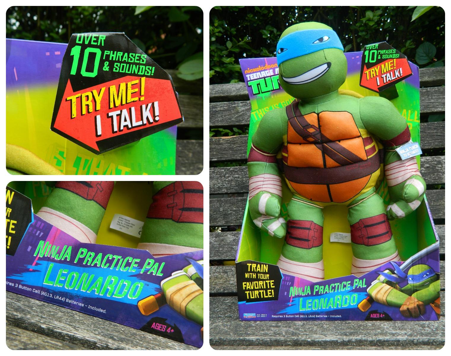 Leonardo Ninja Practice Pal Teenage Mutant Ninja Turtles Flair