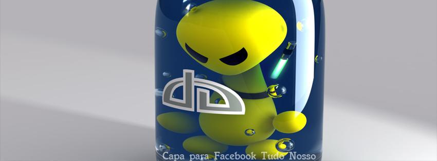 Capa para Facebook - Alienware  - Tudo Nosso