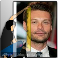 Ryan Seacrest Height - How Tall